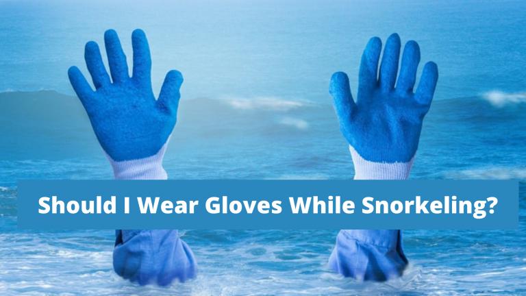 Should I Wear Gloves While Snorkeling