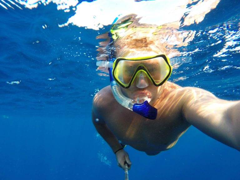 Best Full Face Snorkel Masks With GoPro Mount