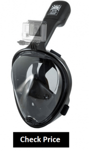 H20 Ninja Snorkel Mask